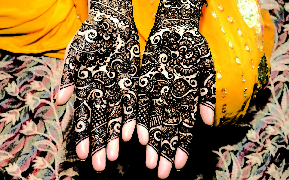 Mehendi designs and training