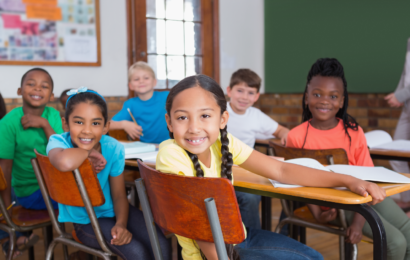 kids smiling in Remedial classes