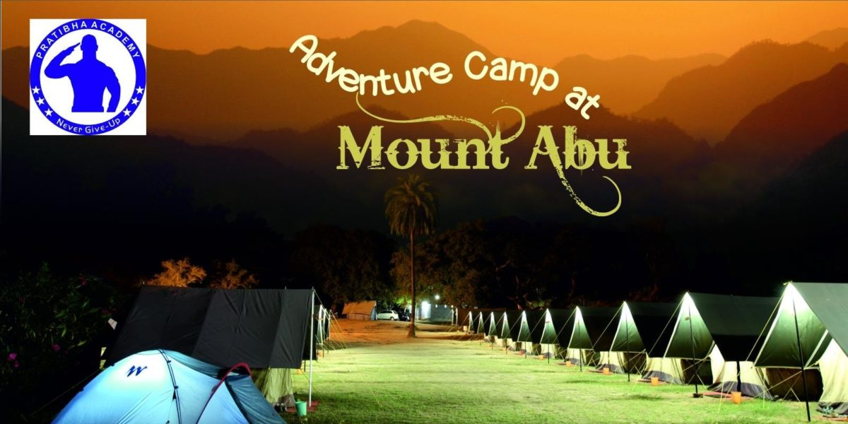 Adventure camp at Mount Abu